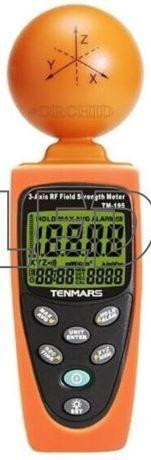 TENMARS TM-195 měřič elektrosmogu, vysokofrekvenční měření