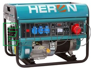 Elektrocentrála benzínová 15HP/6kW, EGM 68 AVR-3